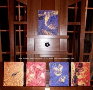 Catrien Ross Glints Series I, Nos.1-5
